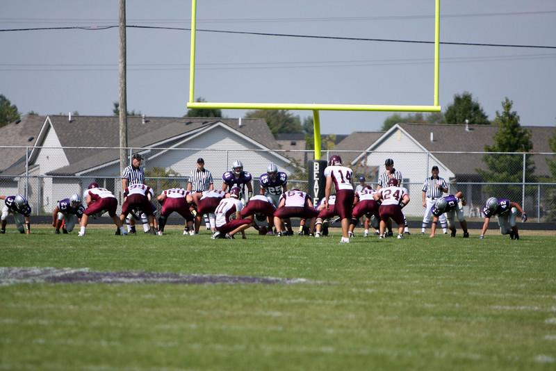 Bluffton Football vs Alma 9/5/09