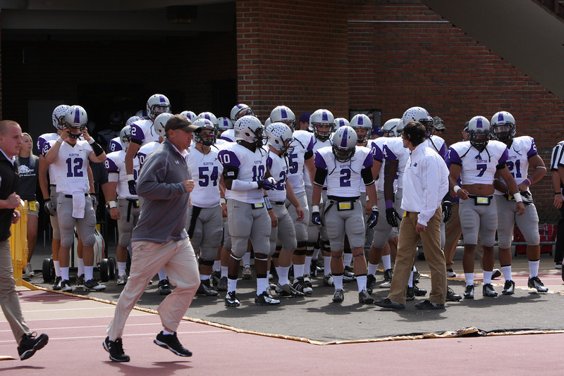 Varsity Football vs Baldwin Wallace 9/8/12