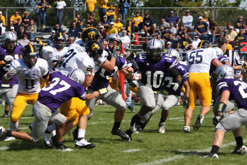 Varsity Football vs Franklin 9/17/11