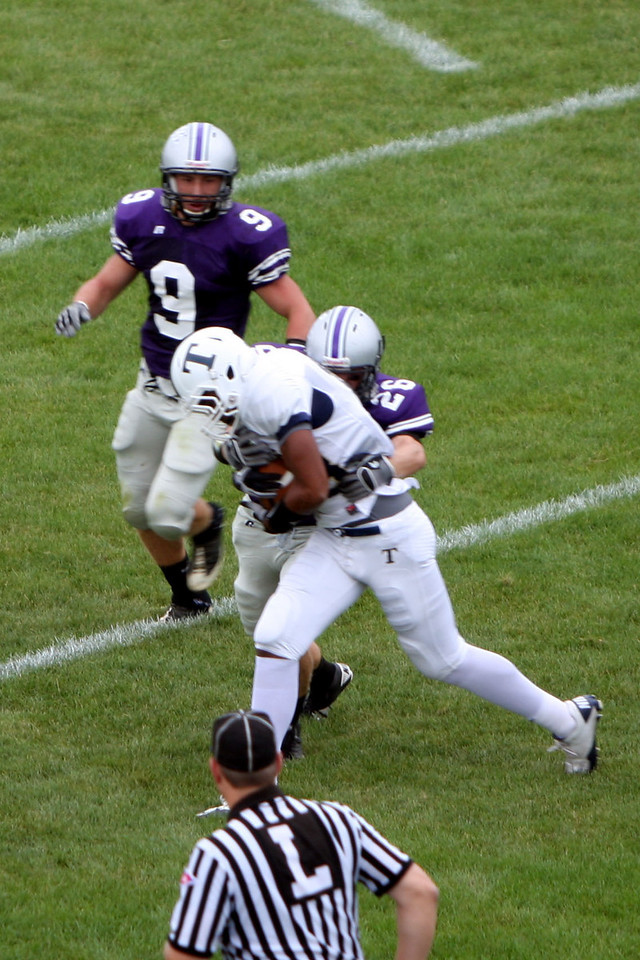 Varsity Football vs Trine 9/11/10